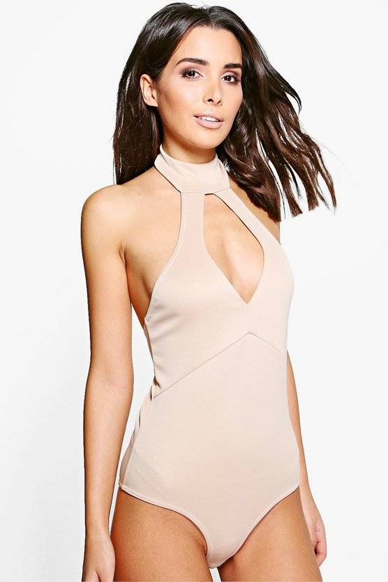 Christina Choker Detail Bodysuit