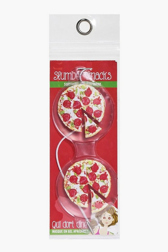 Pizza Cool Gel Eye Mask