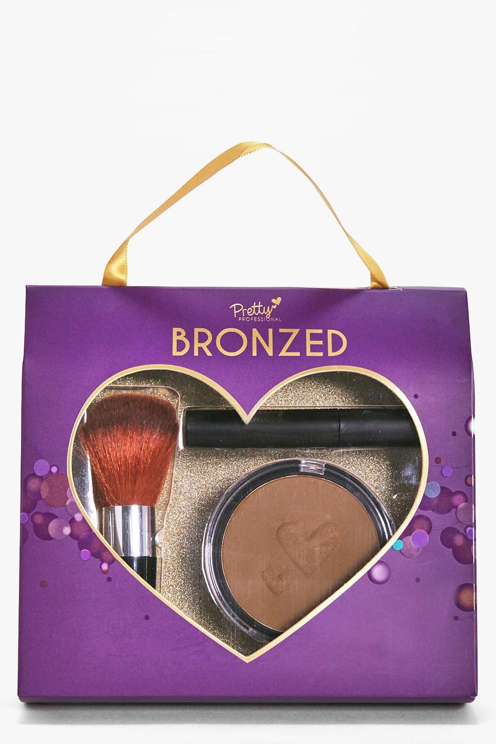 Bronzer Brush and Mascara Gift Set