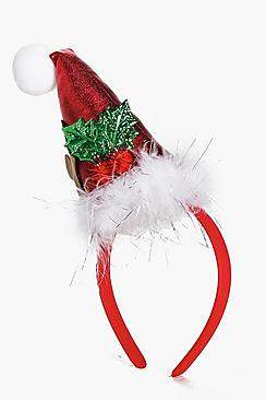 Clara Novelty Christmas Hat Headband