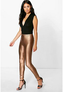 Neva Matte Metallic Highwaist Leggings