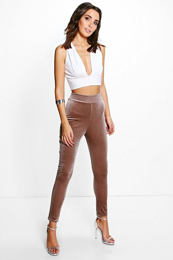 Aura Velvet Highwaist Leggings