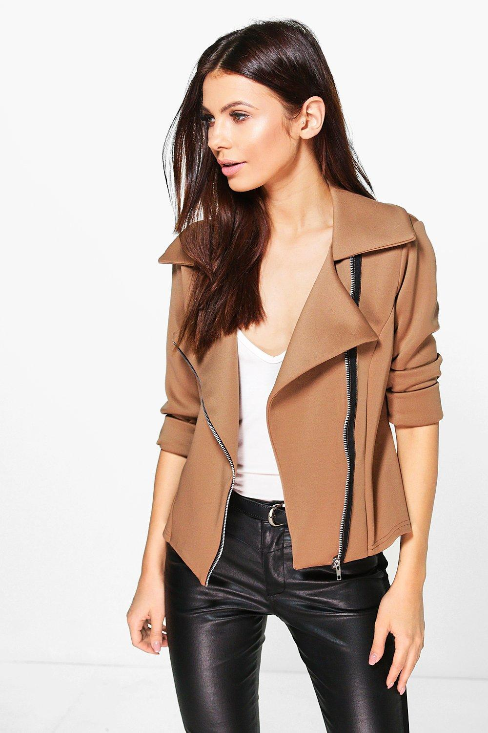 Vanessa Fitted Biker Jacket