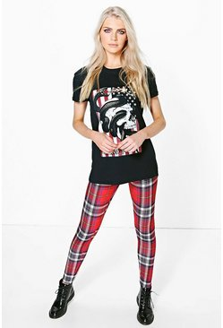 Graciela Tartan Check Print Leggings
