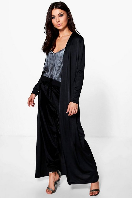 Milly Slinky Belted Maxi Duster