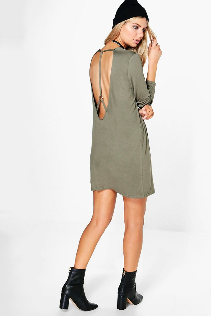Maisie Harness Back Shift Dress