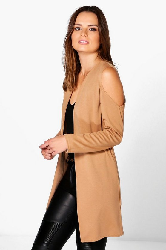Olivia Cold Shoulder Duster
