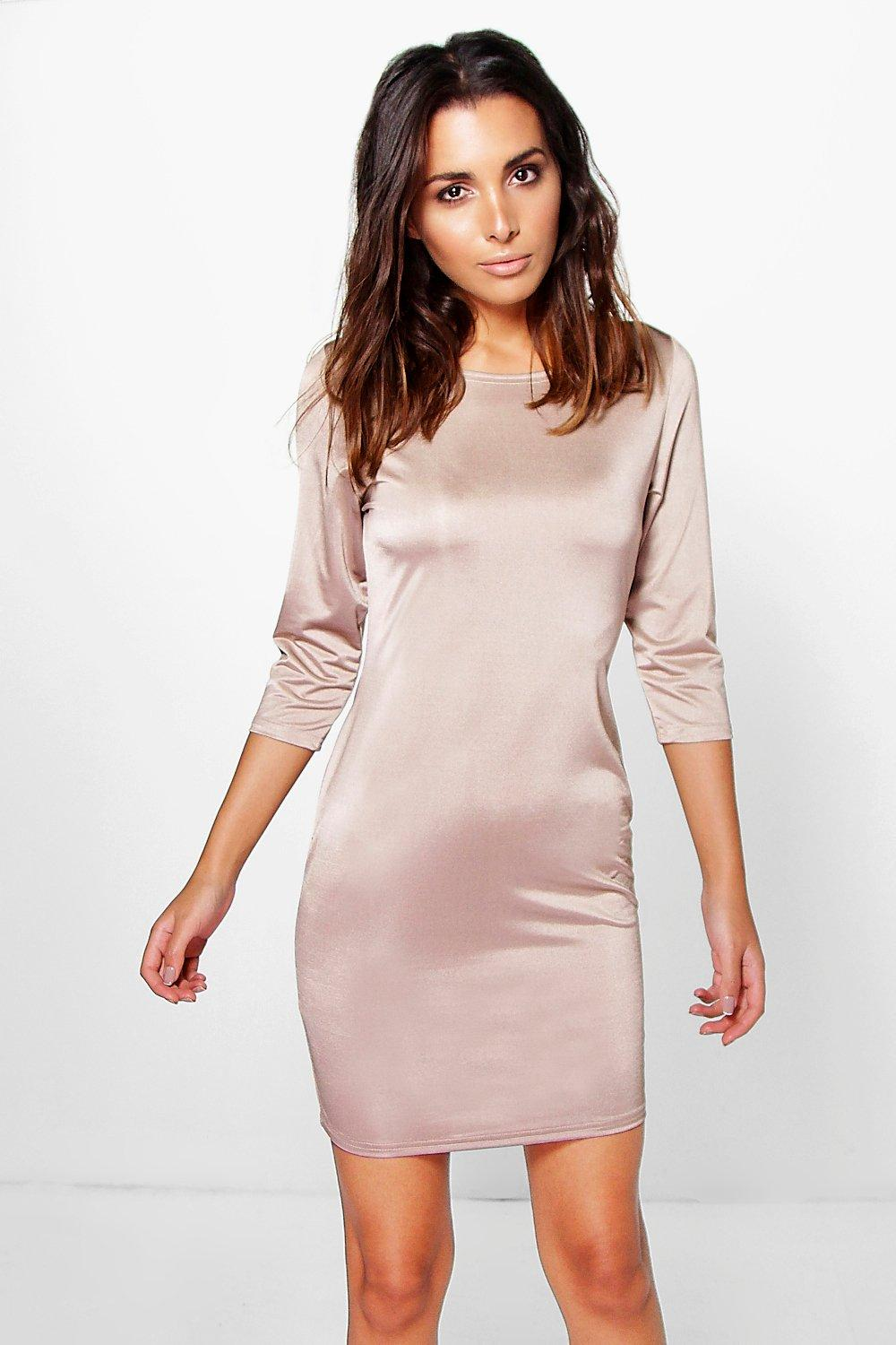 Nikole Long Sleeved Bodycon Dress