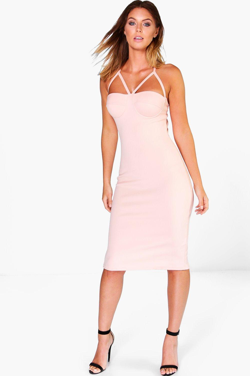 Melody Strappy Bodycon Dress