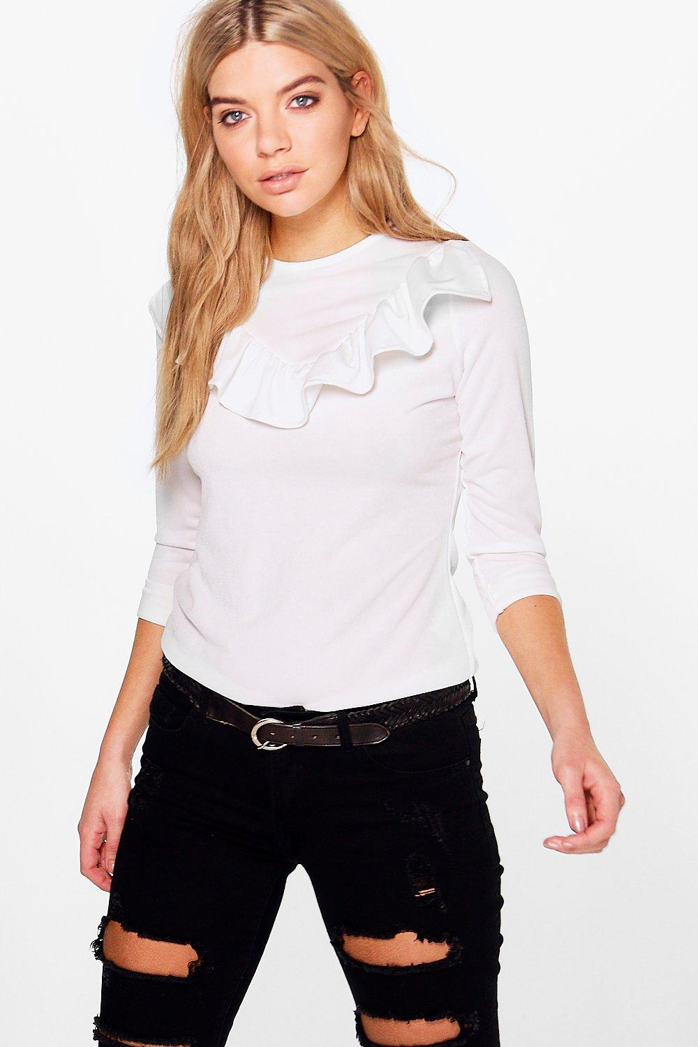 Thea Frill Detail Top