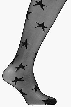 Megan All Over Star Tights