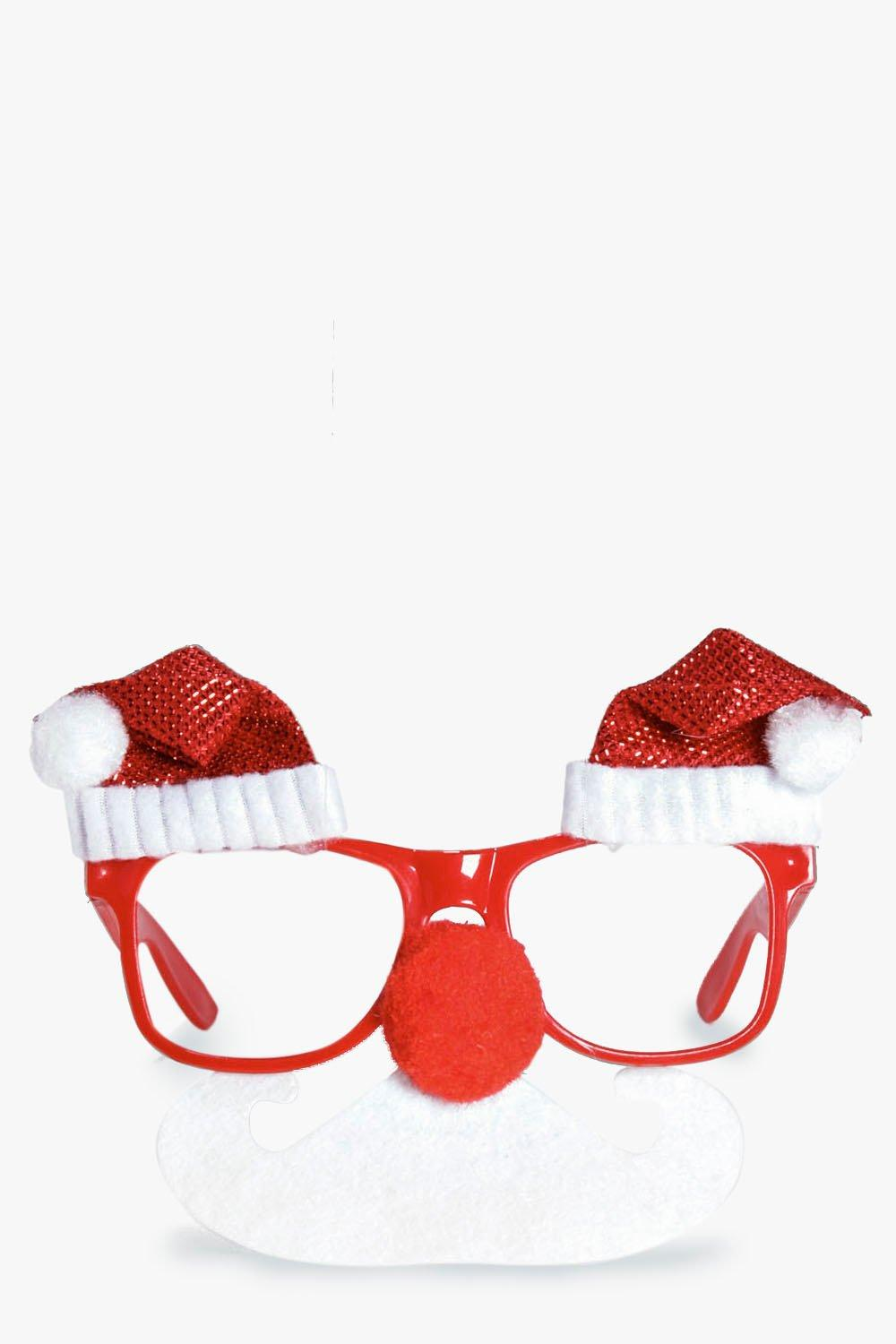 Lola Christmas Santa Hat Novelty Glasses