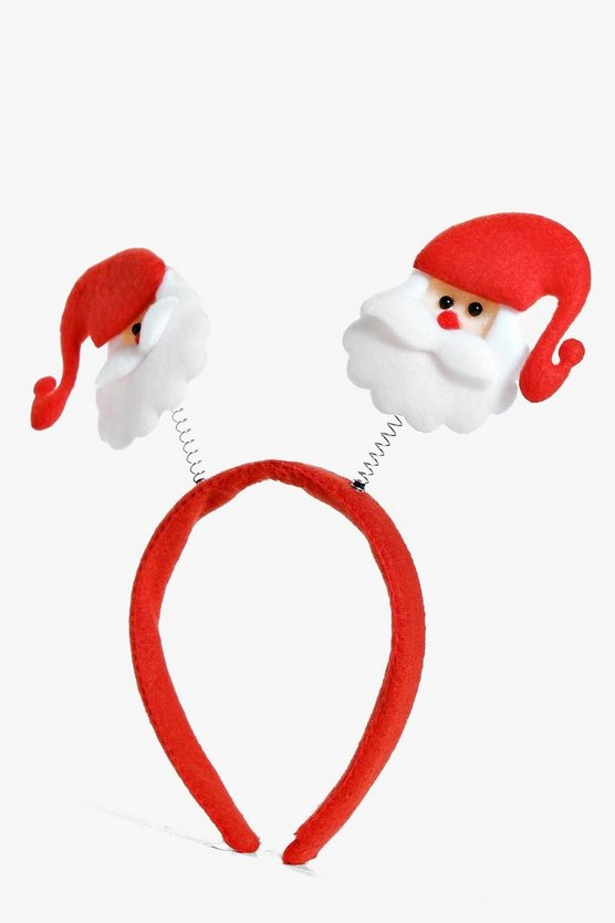 Sophia Christmas Santa Novelty Head Band