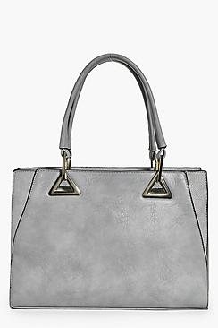 Jessica Metal and Winged Detail Day Bag