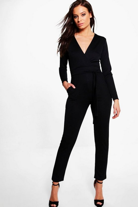 Holly Belted Jumpsuit