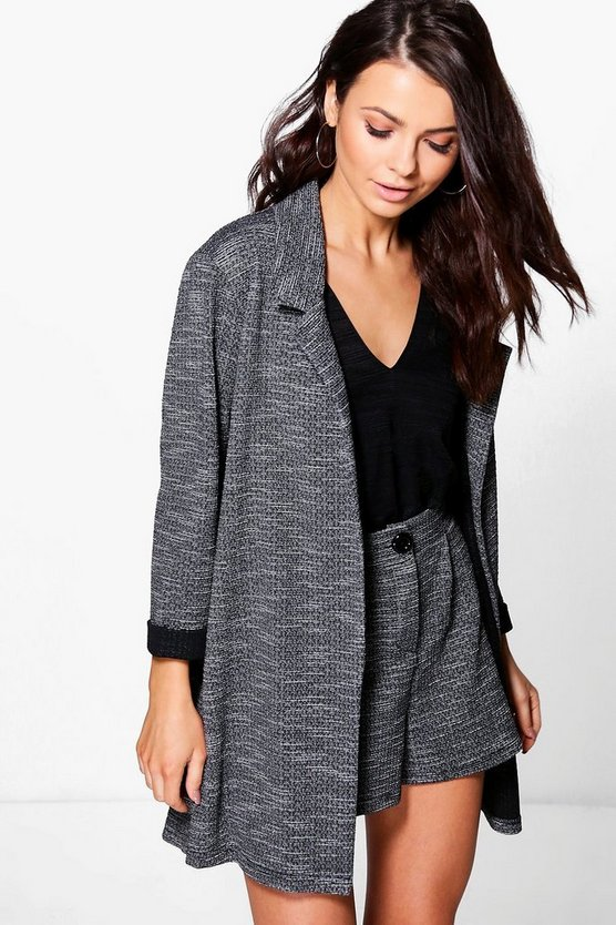 Emma Textured Marl Tailored Blazer
