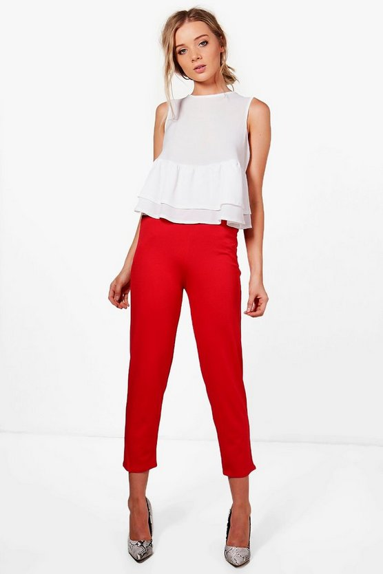 Lily Skinny Pocket Trouser