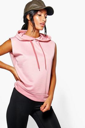 Alice Fit Running hooded Tank Sweat