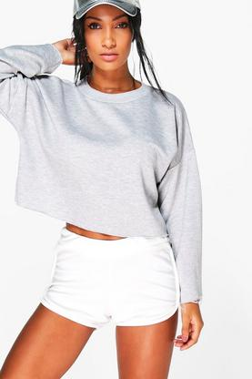 Jasmine FIT Running Crop Sweat