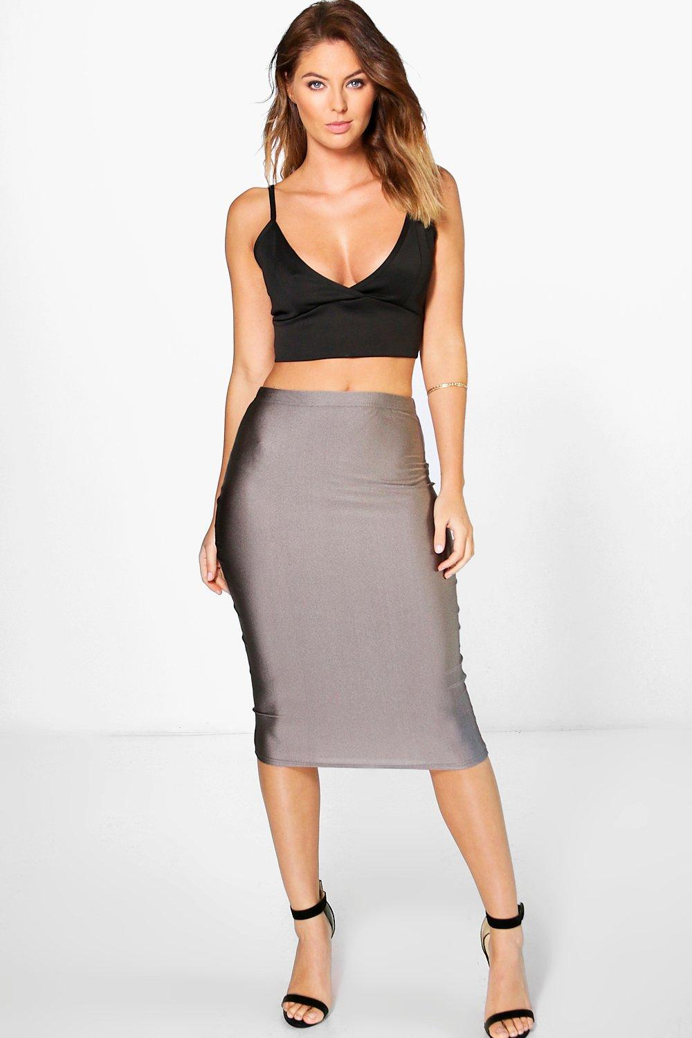 Louella Disco Longer Line Midi Skirt
