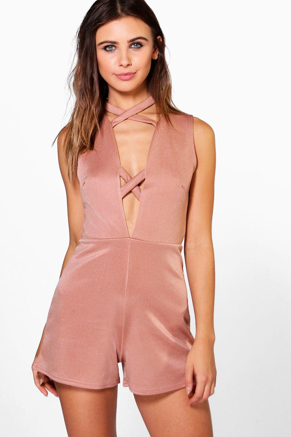 Mia Strap Detail Playsuit