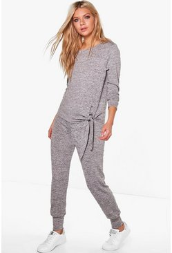 Alicia Tie Front Top & Legging Lounge Set