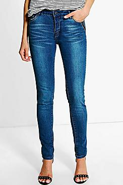 Kate Pocket Detail Skinny Jeans