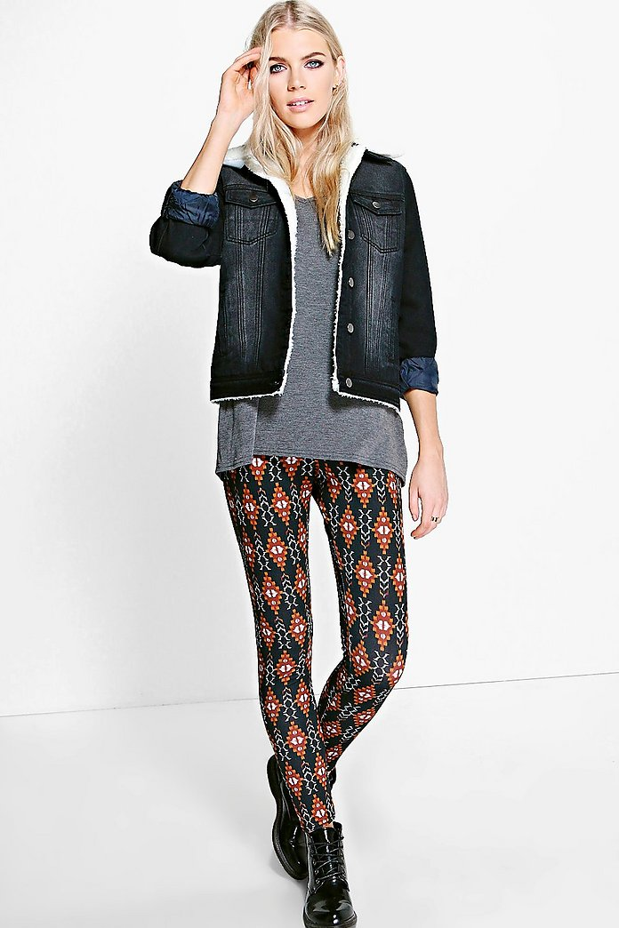 Avalon Autumnal Aztec Leggings