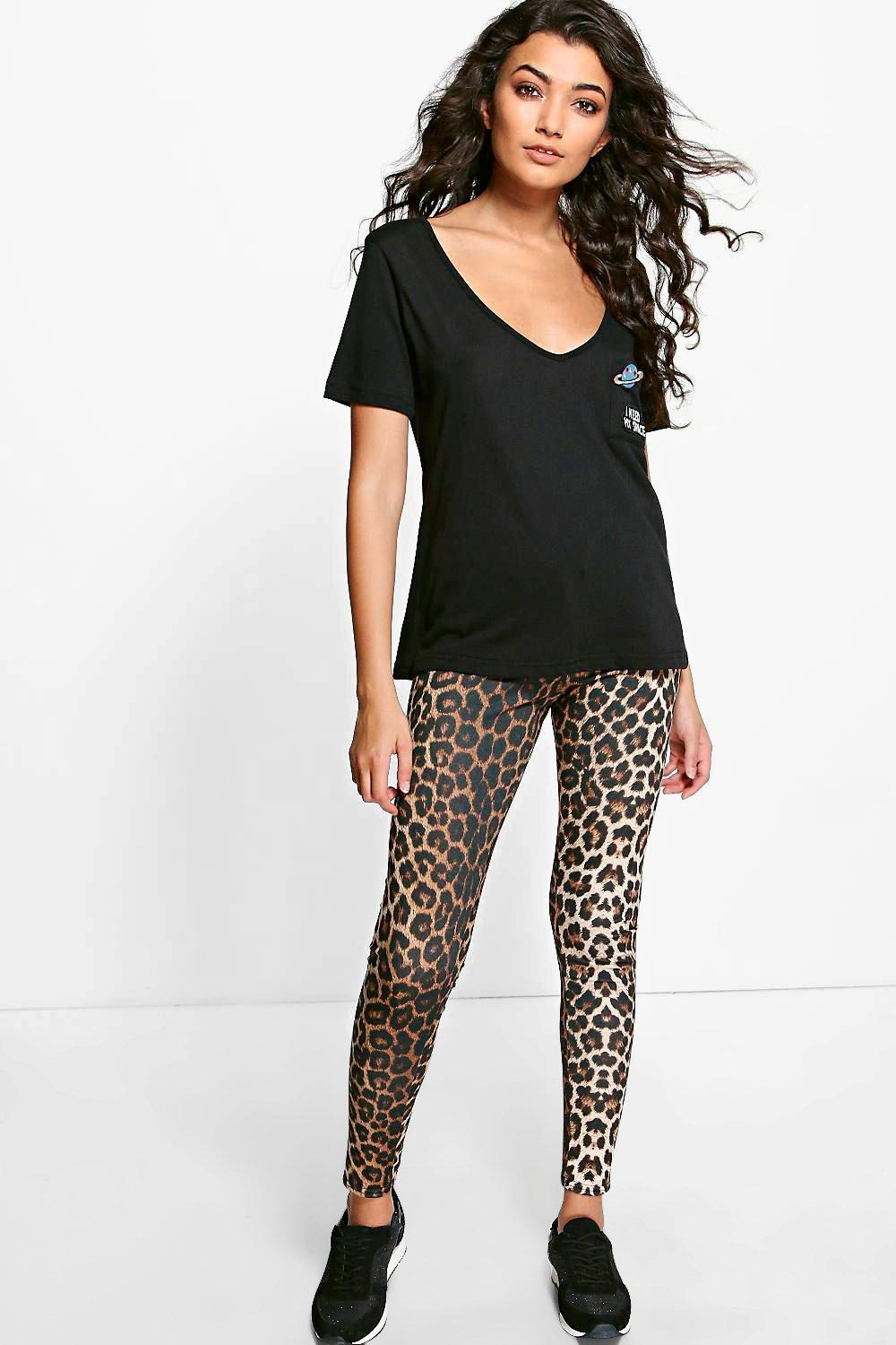 Hope Tonal Leopard Print Leggings