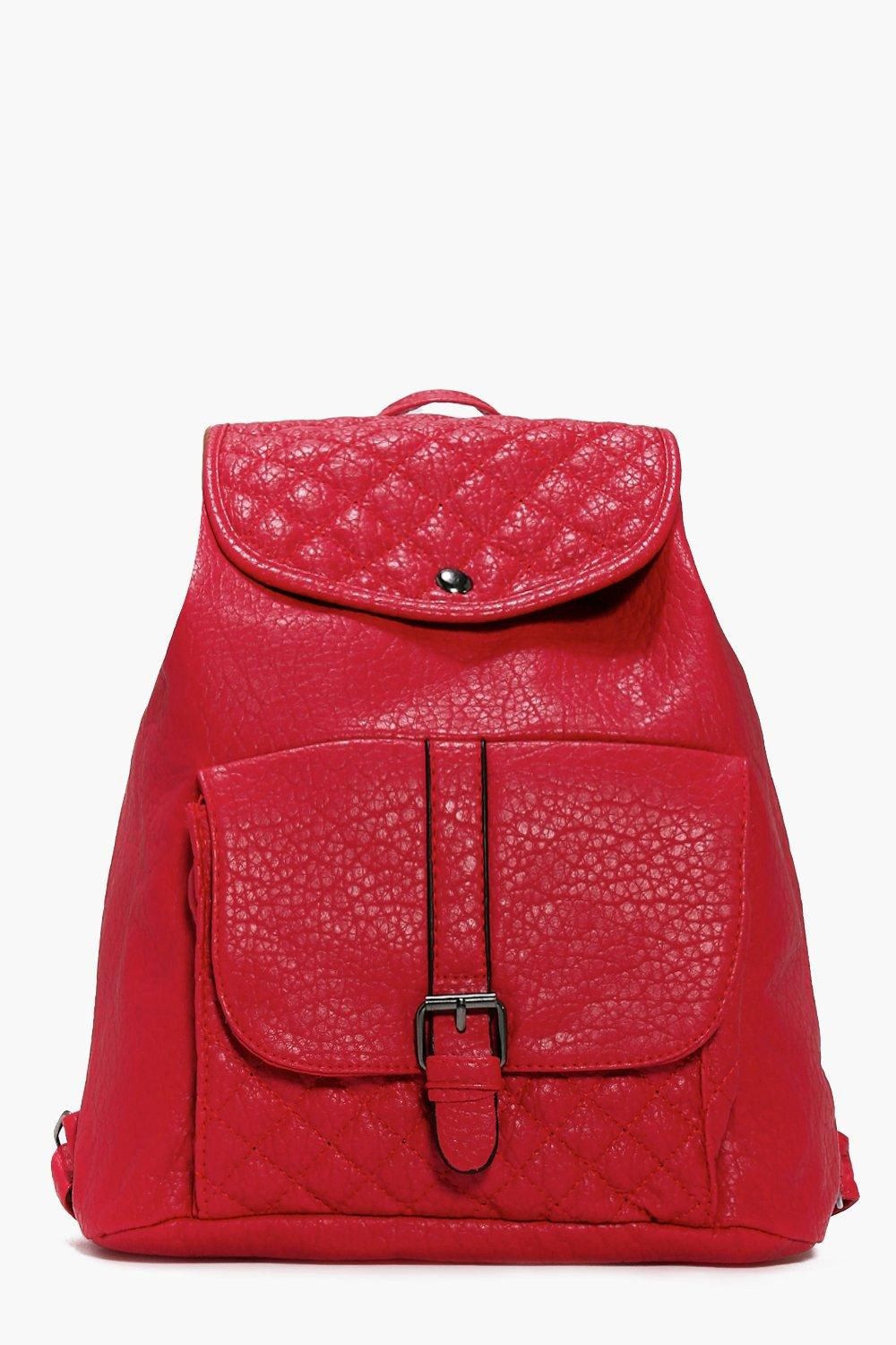 Bethany Quilted Detail Backpack