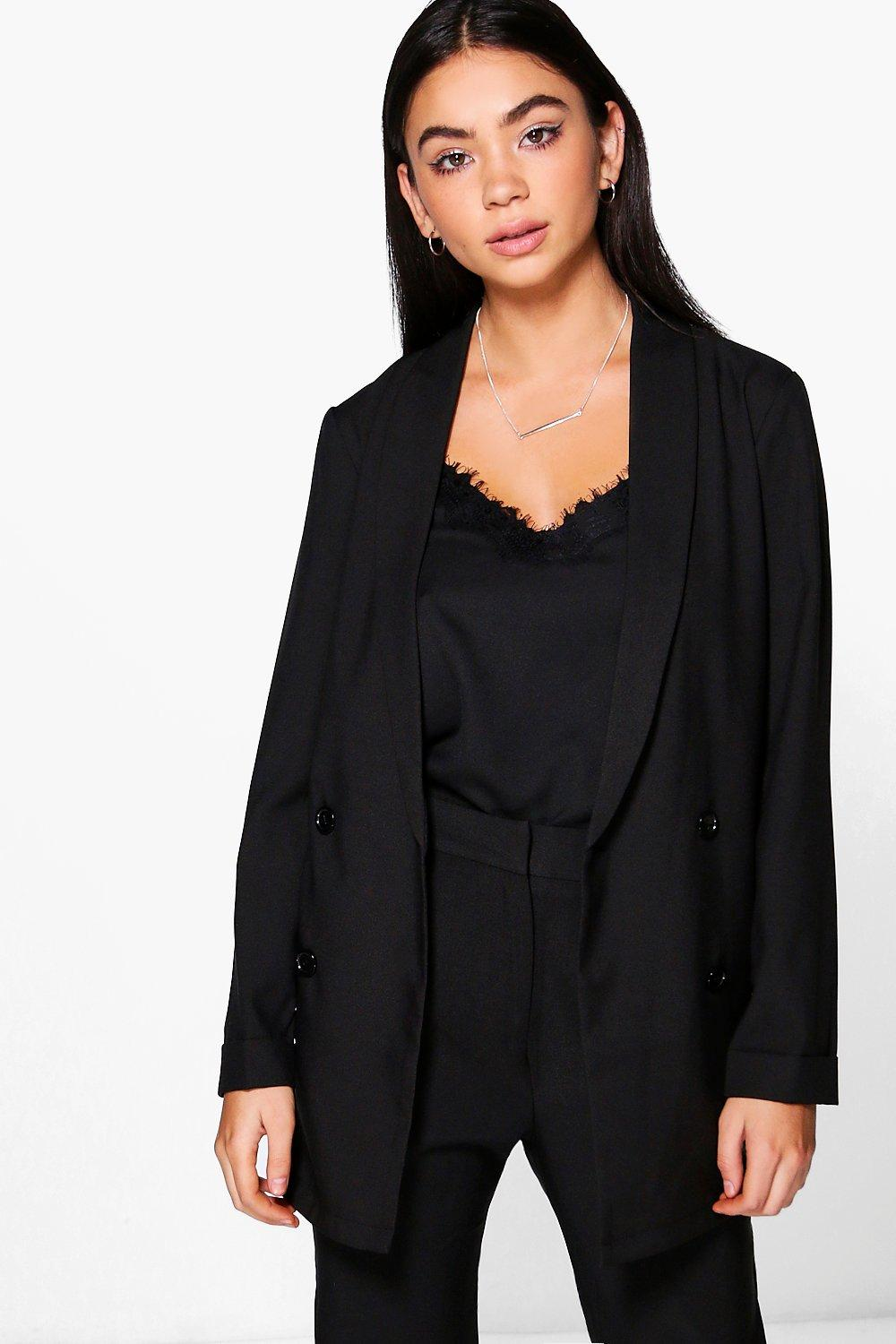Layla Boutique Double Breasted Structured Blazer