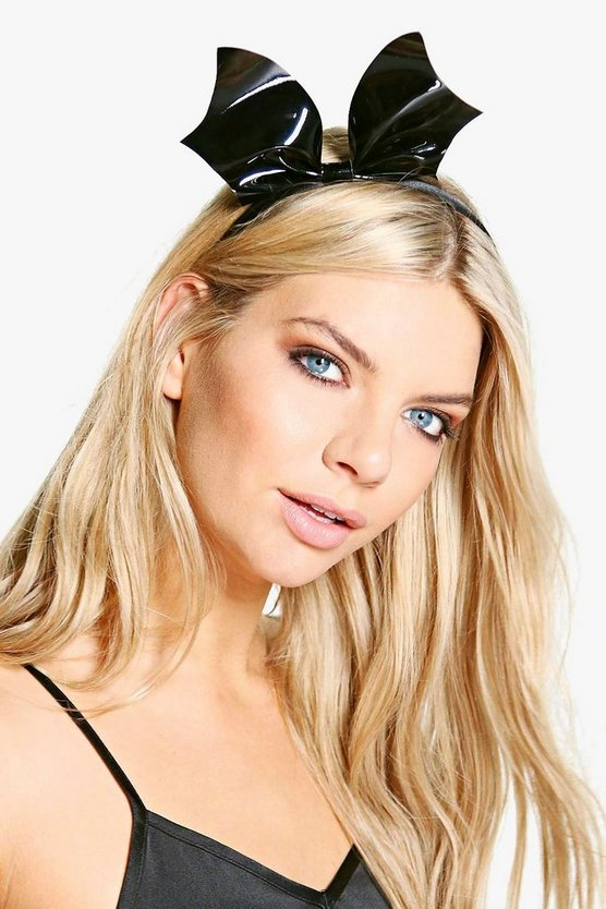 Lyla Halloween Bat Headband