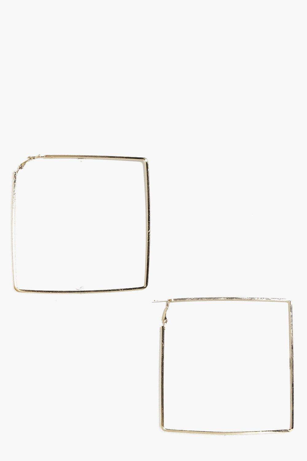 Keira Square Hoop Earrings