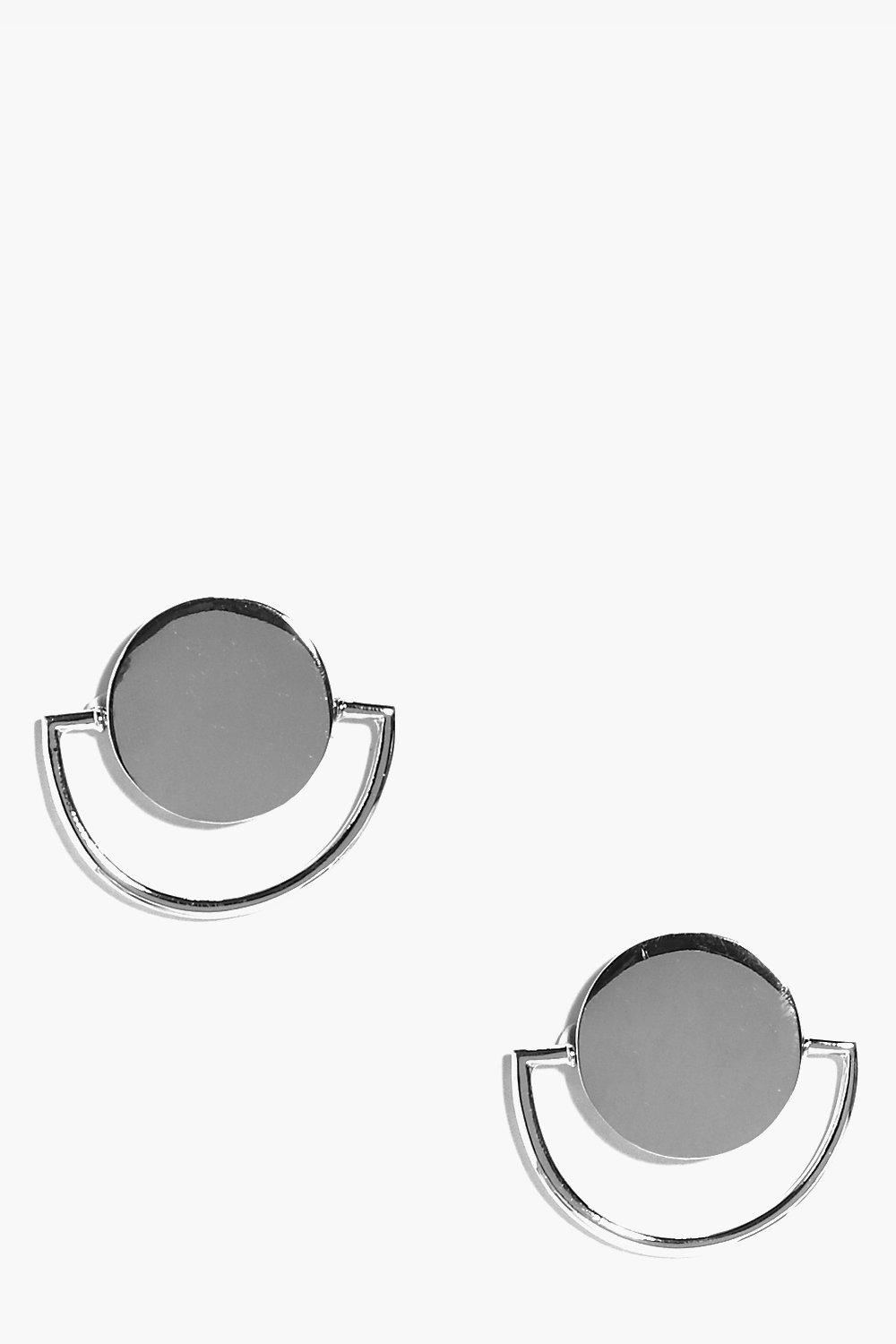 Frances Circle and Bar Earrings