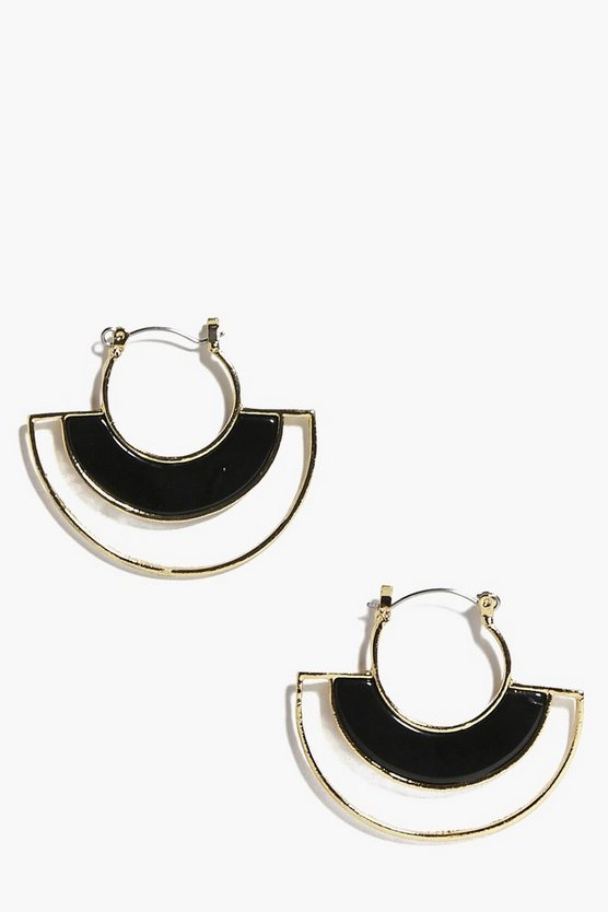 Maddison Open Circle Earrings
