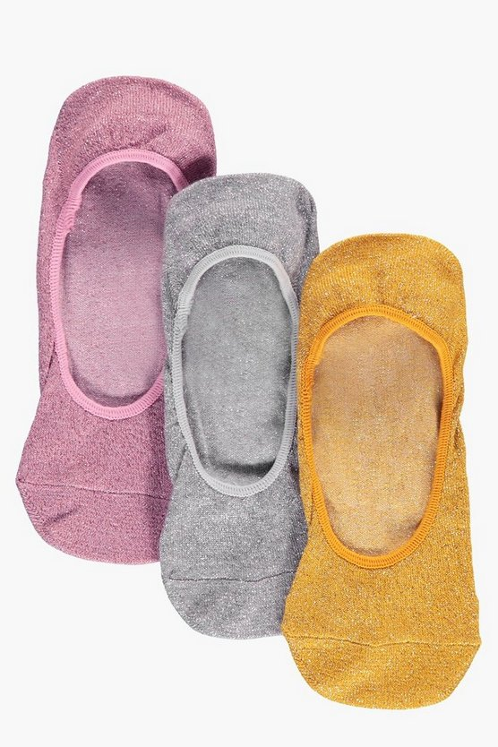 Diana Glitter Secret Trainer Liners 3 Pack