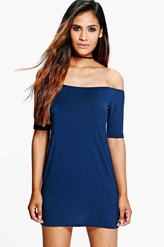 Kassie Bardot Bodycon Dress