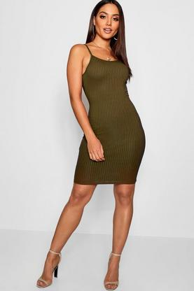 Amarta Ribbed Sleeveless Bodycon Dress