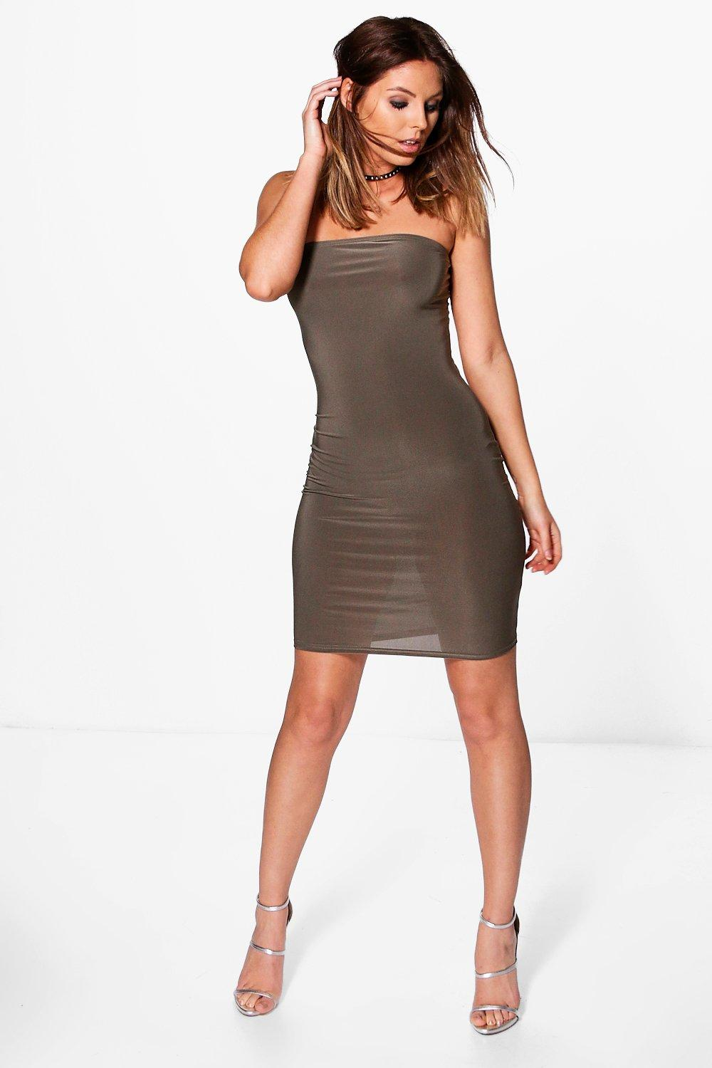 Reema Slinky Bandeau Bodycon Dress
