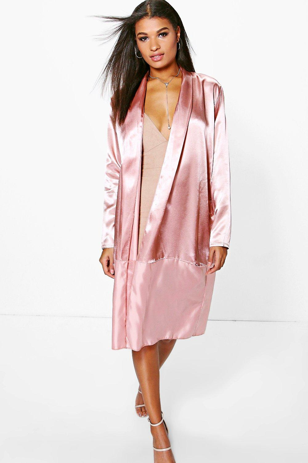 Poppy Satin Duster