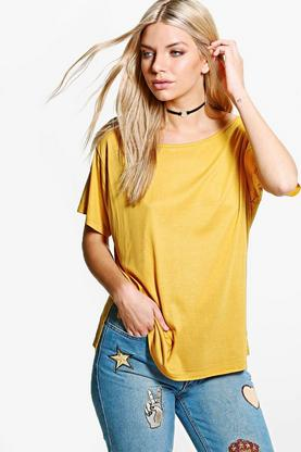 Lauren Slash Neck T-Shirt