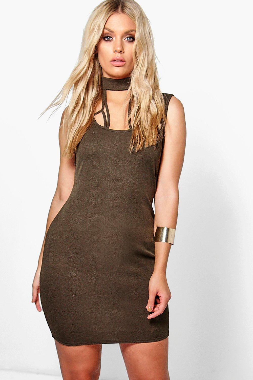 Jordyn Strappy Ribbed Mini Dress