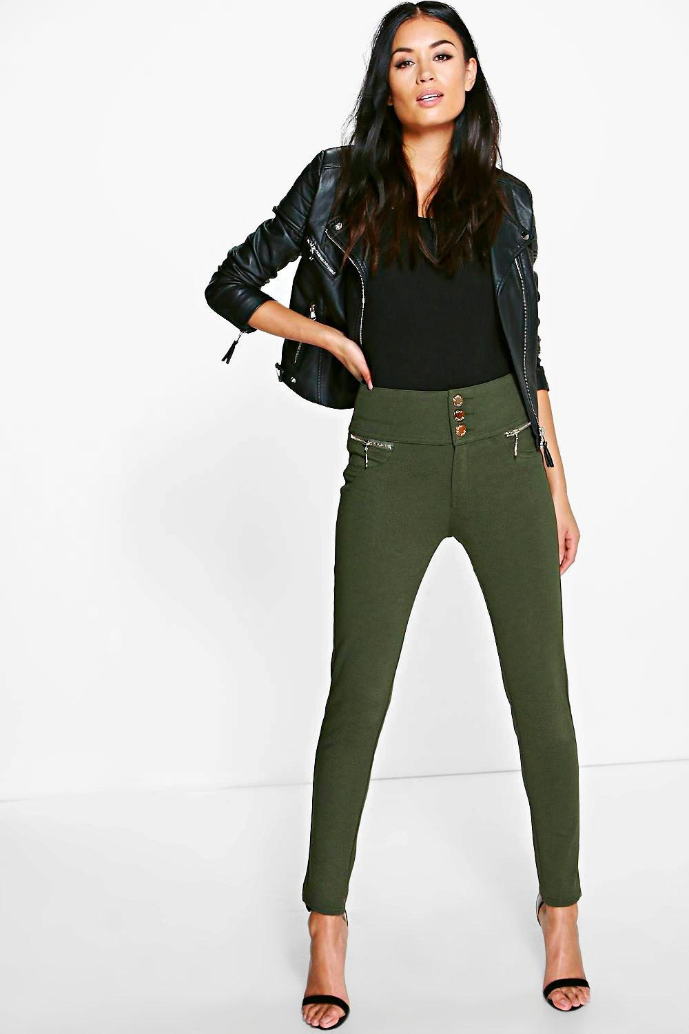 Sophia Super Stretch Highwaist Skinny Trousers