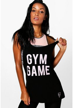 Jenna FIT Gym Game Running Vest