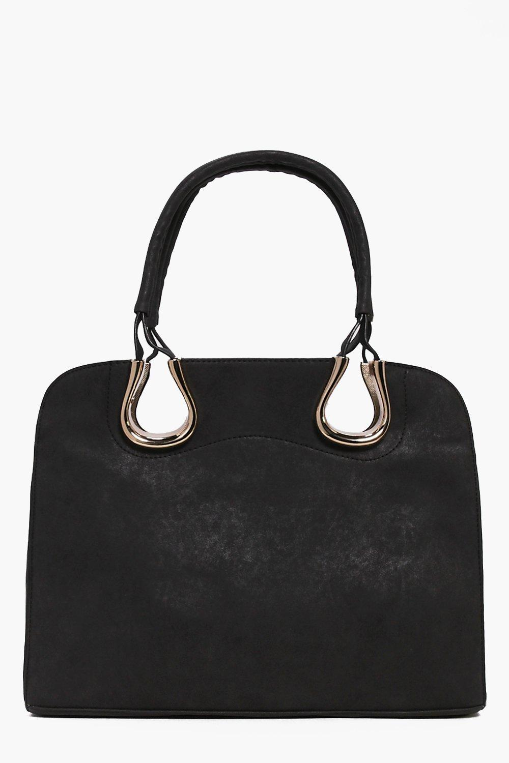 Eva Metal Detail Structured Day Bag