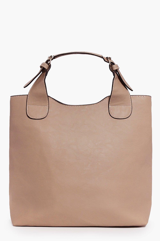 Bucket Day Bag beige