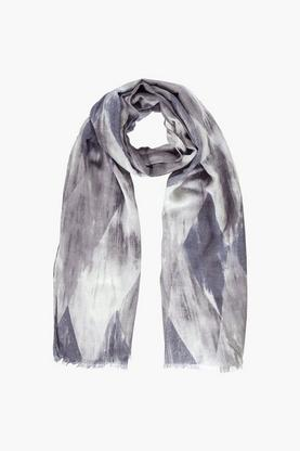Emily Marble Print Lightweight Scarf