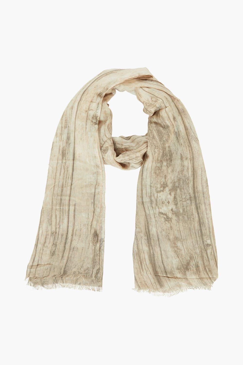 Jessica Washed Effect Lightweight Scarf