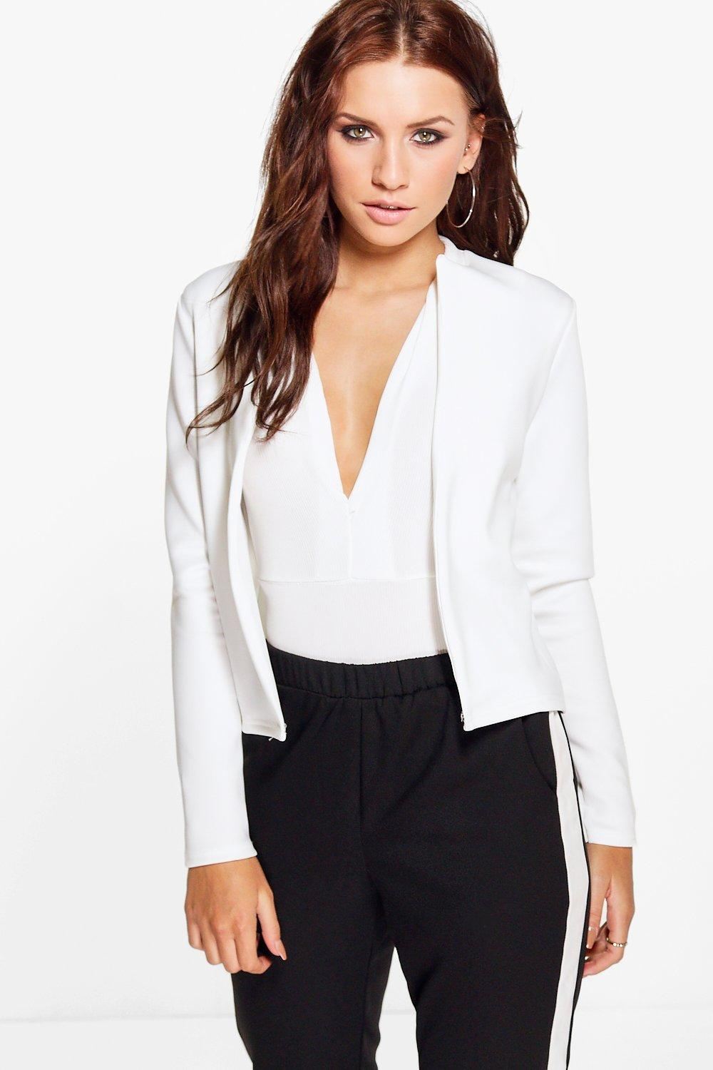 Lucy Crop Edge to Edge Blazer