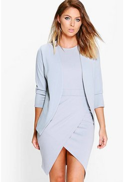 Keira Collarless Blazer
